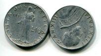 10 лир (года разные) Ватикан