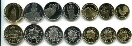 Набор монет Андорры (2013 год)