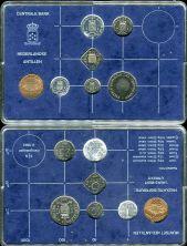 Нидерландские Антилы набор монет (1983 г.)