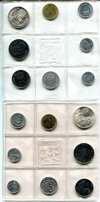 Набор монет Сан-Марино (1973 г.)