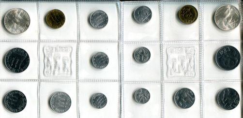 Набор монет Сан-Марино (1975 г.)