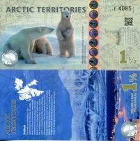 1.1/2 доллара Арктические территории