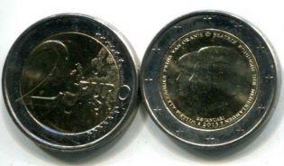 2 евро смена трона (Нидерланды, 2013 г.)