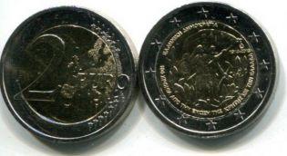2 евро воссоединение с Критом (Греция, 2013 г.)