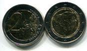 2 евро король и королева (Нидерланды, 2014 г.)