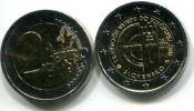 2 евро 10 лет в ЕС (Словакия, 2014 г.)