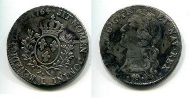 1 экю Людовик XV (Франция, 1764 г.)