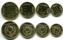 Набор монет Югославии (4 монеты)