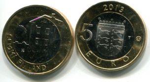 5 евро Остроботния (Финляндия, 2013 г.)