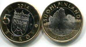 5 евро лиса (Финляндия, 2014 г.)