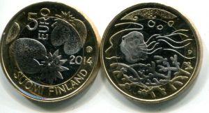 5 евро водный мир (Финляндия, 2014 г.)
