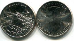 25 центов парк Шенандоа (США, 2014 год)