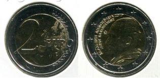 2 евро Союз Ионических островов (Греция, 2014 г.)