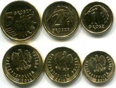 Набор монет Польши (2014 год)