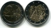 2 евро Барбара Цилли (Словения, 2014 г.)