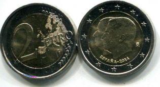 2 евро Король Филипп VI (Испания, 2014 г.)