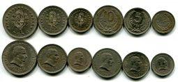 Набор монет Уругвая (1960 год)