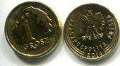 1 грош регулярный выпуск (Польша, 2014 г.)
