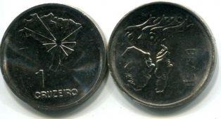 1 крузейро 150 лет Декларации (Бразилия, 1972 год)