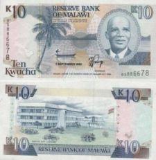 10 квач 1992 год Малави