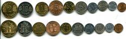 Набор монет Исландии
