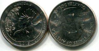 25 центов Кисатчи (США, 2015 г.)