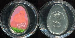 5 долларов цыплёнок 2009 год Острова Кука