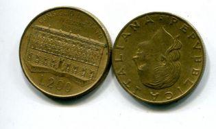 200 лир 1992 год выставка Италия