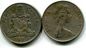 50 центов 1970 год Бермудские острова