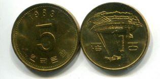 5 вон лодка 1983 год Южная Корея