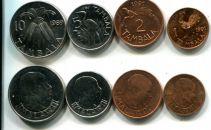 Набор монет Малави природа