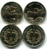 Турция набор монет варан и баран 2015 год