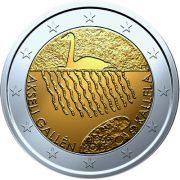 2 евро Аксели Галлен-Каллела Финляндия 2015 год