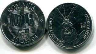 1000 лей Константин Брынковяну Румыния 2004