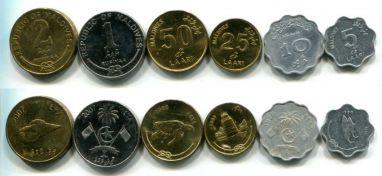 Набор монет Мальдивы