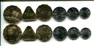 Набор монет острова Кука 2015 год