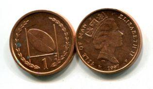 1 пенни регби остров Мэн 1997 год