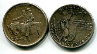 1/2 доллара Стоун-Маунтин США 1925 год