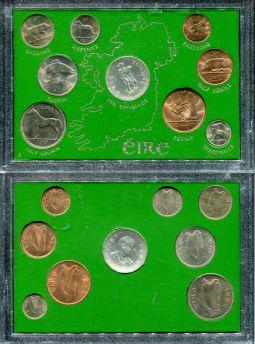 Набор монет Ирландии 1966 год