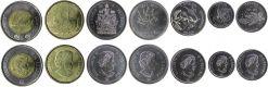 Набор монет Канады 150 лет Конфедерации 2017 год