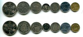Набор монет Испании (два варианта)