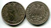 10 злотых Казимир Великий Польша 1964 год