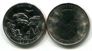 25 центов Лес Шоуни США 2016 год