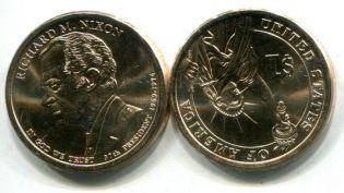 1 доллар Ричард Никсон США 2016 год
