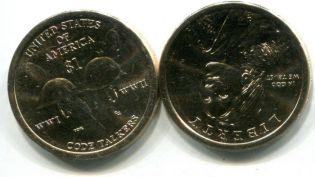 1 доллар Сакагавея США 2016 год