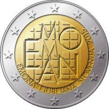 2 евро Эмона Словения 2015 год