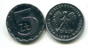 5 злотых Польша 1974 год