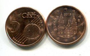 5 евроцентов Испания 2000 год