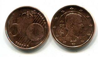 5 евроцентов Бельгия 2015 год
