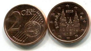 2 евроцента Испания 2012 год